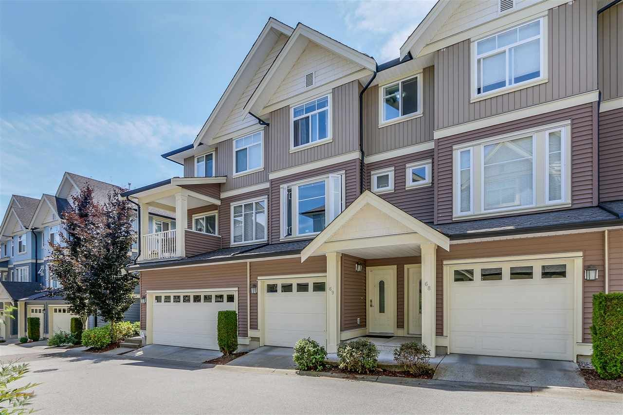 "Main Photo: 69 6575 192 Street in Surrey: Clayton Townhouse for sale in ""Ixia"" (Cloverdale)  : MLS®# R2076740"