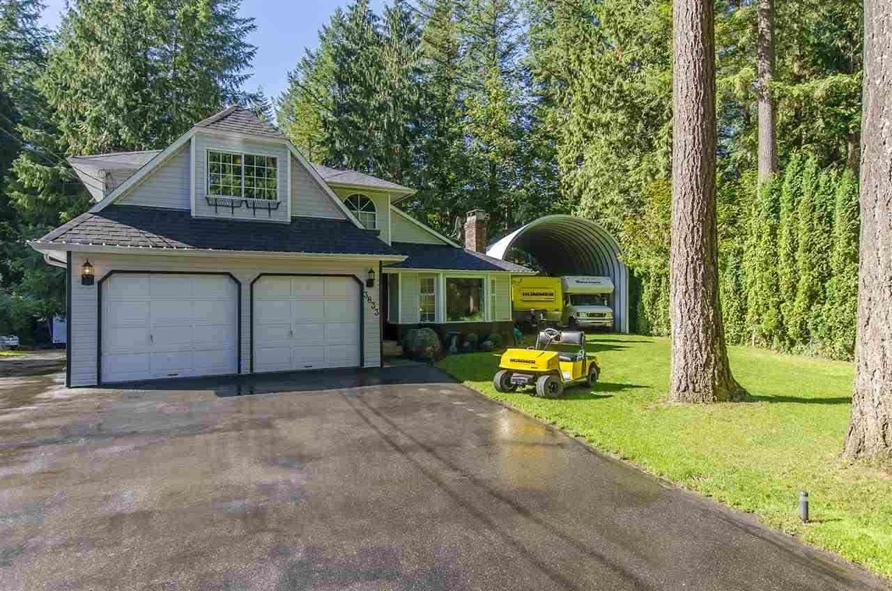 Main Photo: 3833 KAREN DRIVE: Cultus Lake House for sale : MLS®# R2024781