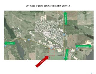 Photo 1: Prime Commercial Highway Land Development Site in Unity: Lot/Land for sale : MLS®# SK821817