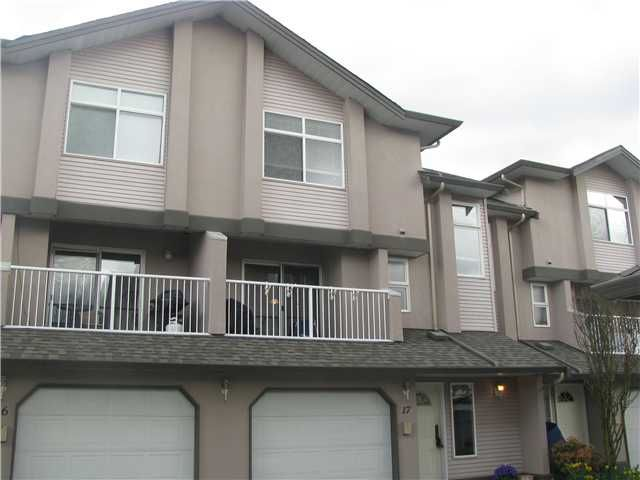 Main Photo: 17 2538 PITT RIVER Road in Port Coquitlam: Mary Hill Townhouse for sale : MLS®# V881869