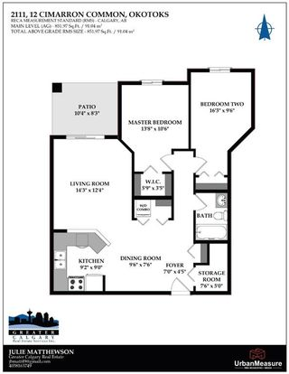 Photo 28: 2111 12 Cimarron Common: Okotoks Apartment for sale : MLS®# A1076656