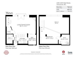 Photo 17: 415 2001 WALL Street in Vancouver: Hastings Condo for sale (Vancouver East)  : MLS®# R2268138