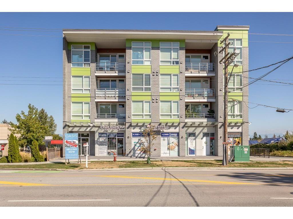 "Main Photo: 405 8488 160 Street in Surrey: Fleetwood Tynehead Condo for sale in ""Oasis"" : MLS®# R2616721"