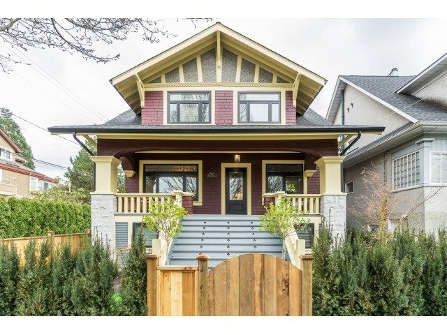 Main Photo: 3262 ONTARIO STREET in Vancouver East: Home for sale : MLS®# R2043004
