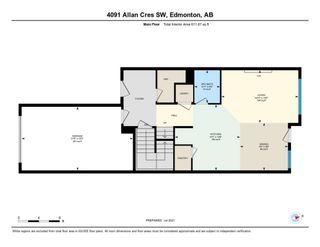Photo 29: 4091 ALLAN Crescent in Edmonton: Zone 56 House Half Duplex for sale : MLS®# E4255510