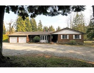 Photo 1: 12606 251ST Street in Maple_Ridge: Websters Corners House for sale (Maple Ridge)  : MLS®# V691278