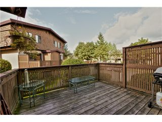 "Photo 18: 4 319 HIGHLAND Way in Port Moody: North Shore Pt Moody Townhouse for sale in ""HIGHLAND PARK"" : MLS®# V1028361"