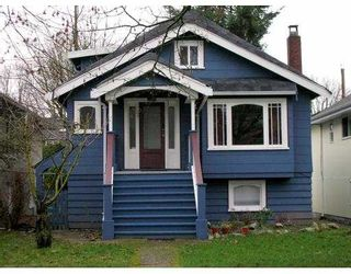 Photo 1: 2828 W 11TH AV in Vancouver: Kitsilano House for sale (Vancouver West)  : MLS®# V572352