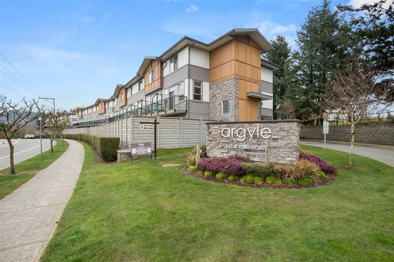 """Main Photo: 56 34248 KING Road in Abbotsford: Poplar Townhouse for sale in """"Argyle"""" : MLS®# R2561702"""