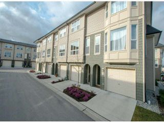 """Photo 1: 79 7938 209 Street in Langley: Willoughby Heights Townhouse for sale in """"Red Maple Park"""" : MLS®# F1413572"""