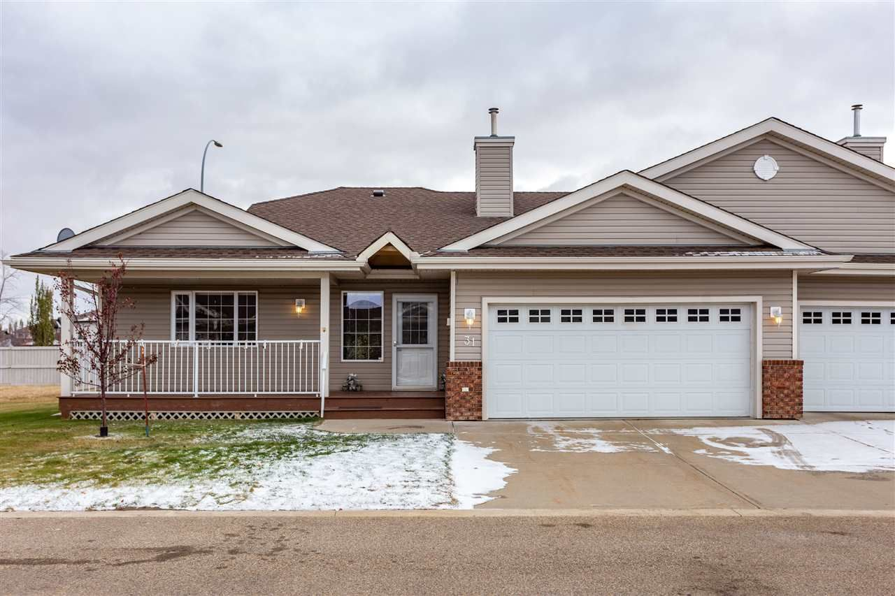 Main Photo: 31 8602 SOUTHFORT Drive: Fort Saskatchewan House Half Duplex for sale : MLS®# E4218887
