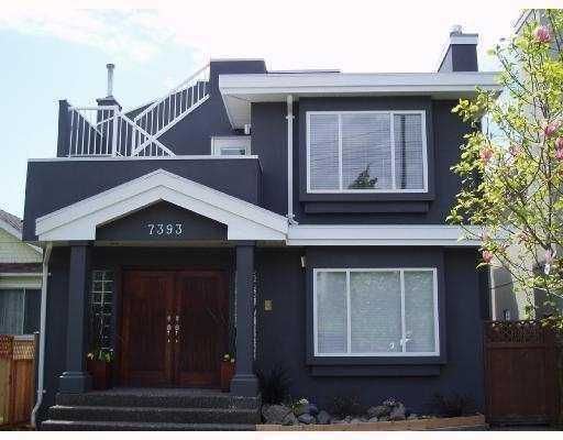 Main Photo: 7393 WEST BOULEVARD BB in Vancouver: S.W. Marine House for sale (Vancouver West)  : MLS®# V773471