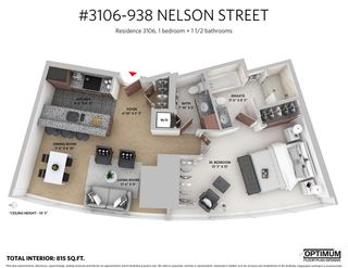 "Photo 20: 3106 938 NELSON Street in Vancouver: Downtown VW Condo for sale in ""ONE WALL CENTRE"" (Vancouver West)  : MLS®# R2313633"