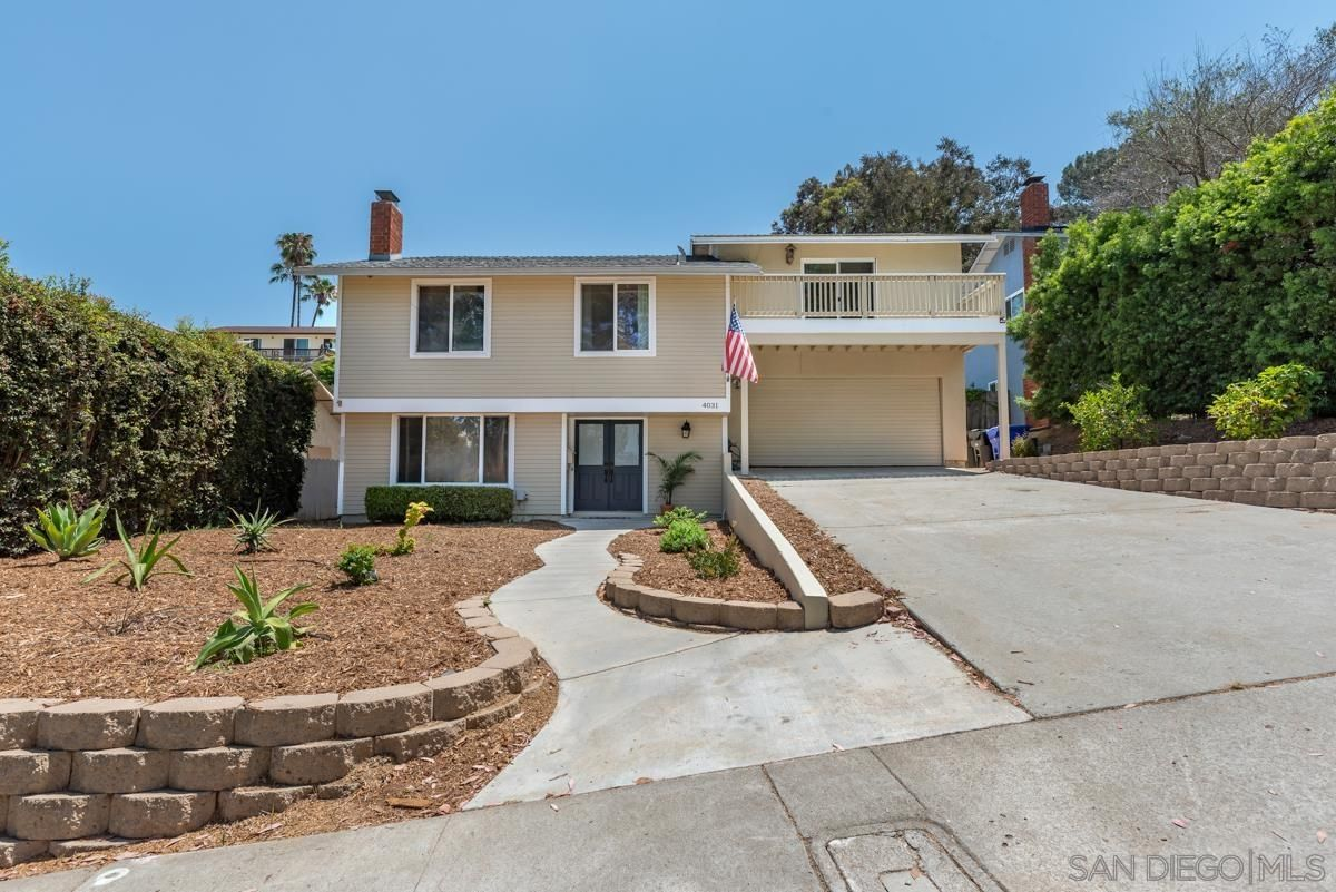 Main Photo: SAN DIEGO House for sale : 3 bedrooms : 4031 Cadden Way
