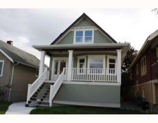 Photo 1: 2740 PANDORA Street in Vancouver: Hastings East House for sale (Vancouver East)  : MLS®# V738324