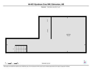 Photo 38: 44 451 HYNDMAN Crescent in Edmonton: Zone 35 Townhouse for sale : MLS®# E4230416