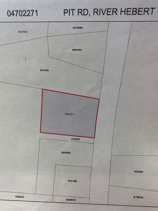 Photo 1: VL Pit Road in River Hebert: 102S-South Of Hwy 104, Parrsboro and area Vacant Land for sale (Northern Region)  : MLS®# 202116309