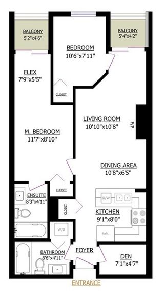 Photo 10: PH5 868 KINGSWAY in Vancouver: Fraser VE Condo for sale (Vancouver East)  : MLS®# R2538818