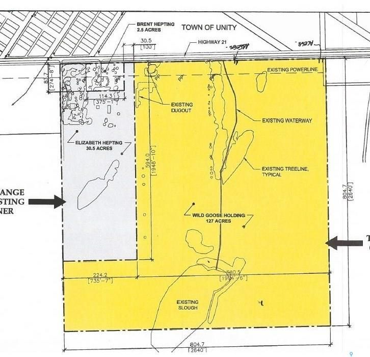 Main Photo: NW Hepting Land in Unity: Lot/Land for sale : MLS®# SK831141