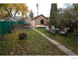 Photo 16: 443 Horace Street in WINNIPEG: St Boniface Residential for sale (South East Winnipeg)  : MLS®# 1528754