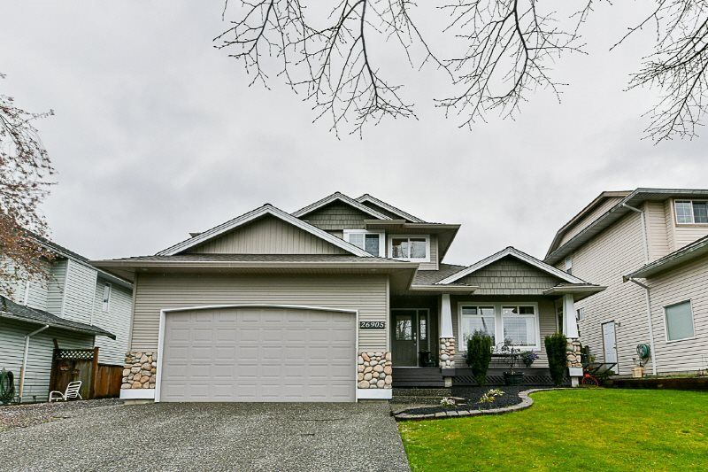 Main Photo: 26905 24A Avenue in Langley: Aldergrove Langley House for sale : MLS®# R2327856