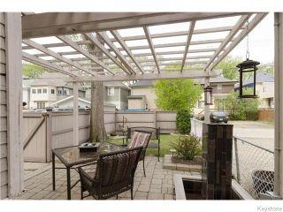 Photo 19: 166 Ruby Street in Winnipeg: West End / Wolseley Residential for sale (West Winnipeg)  : MLS®# 1612567