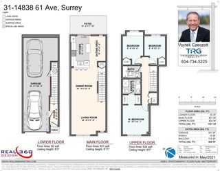 """Photo 2: 31 14838 61 Avenue in Surrey: Sullivan Station Townhouse for sale in """"Sequoia"""" : MLS®# R2588030"""