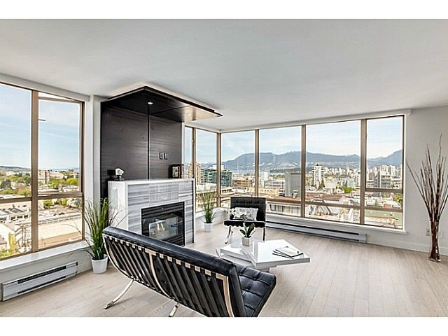 """Main Photo: 1201 1405 W 12TH Avenue in Vancouver: Fairview VW Condo for sale in """"THE WARRENTON"""" (Vancouver West)  : MLS®# V1062327"""