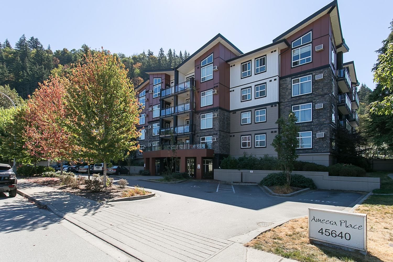 Main Photo: 311 45640 ALMA Avenue in Chilliwack: Vedder S Watson-Promontory Condo for sale (Sardis)  : MLS®# R2612759