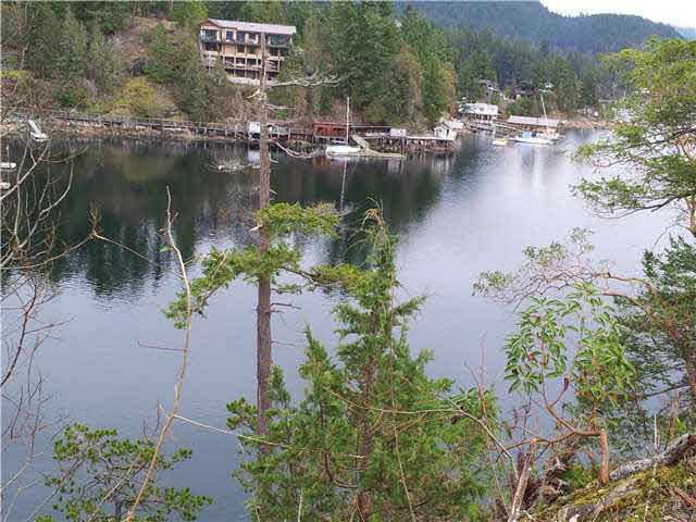 This is part of the view looking past Duncan Cove into Pender Harbour towards Madeira Park