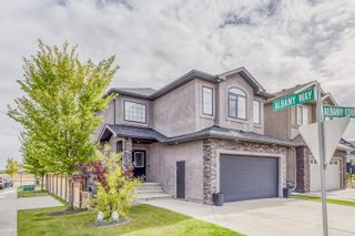 Photo 1: 804 ALBANY Cove in Edmonton: Zone 27 House for sale : MLS®# E4265185