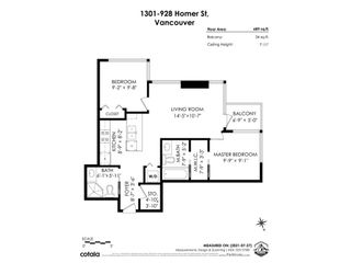 """Photo 33: 1301 928 HOMER Street in Vancouver: Yaletown Condo for sale in """"Yaletown Park 1"""" (Vancouver West)  : MLS®# R2605700"""