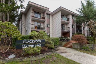 Photo 1: 102 1442 BLACKWOOD Street: White Rock Condo for sale (South Surrey White Rock)  : MLS®# R2232653