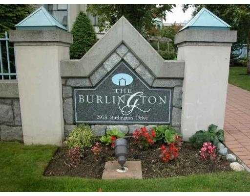 "Main Photo: 304 2978 BURLINGTON DR in Coquitlam: North Coquitlam Condo for sale in ""BURLINGTON"" : MLS®# V591374"