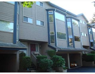 """Photo 1: 4 1195 FALCON Drive in Coquitlam: Eagle Ridge CQ Townhouse for sale in """"THE COURTYARDS"""" : MLS®# V775028"""