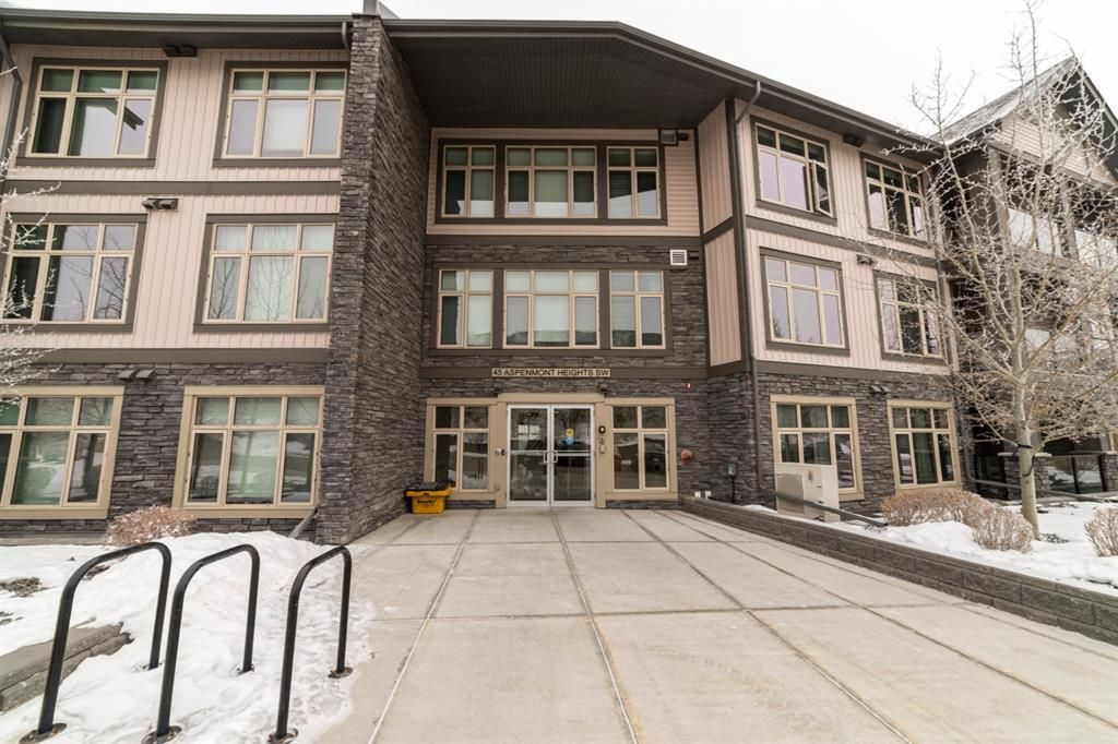Main Photo: 14 45 Aspenmont Heights SW in Calgary: Aspen Woods Apartment for sale : MLS®# A1118971