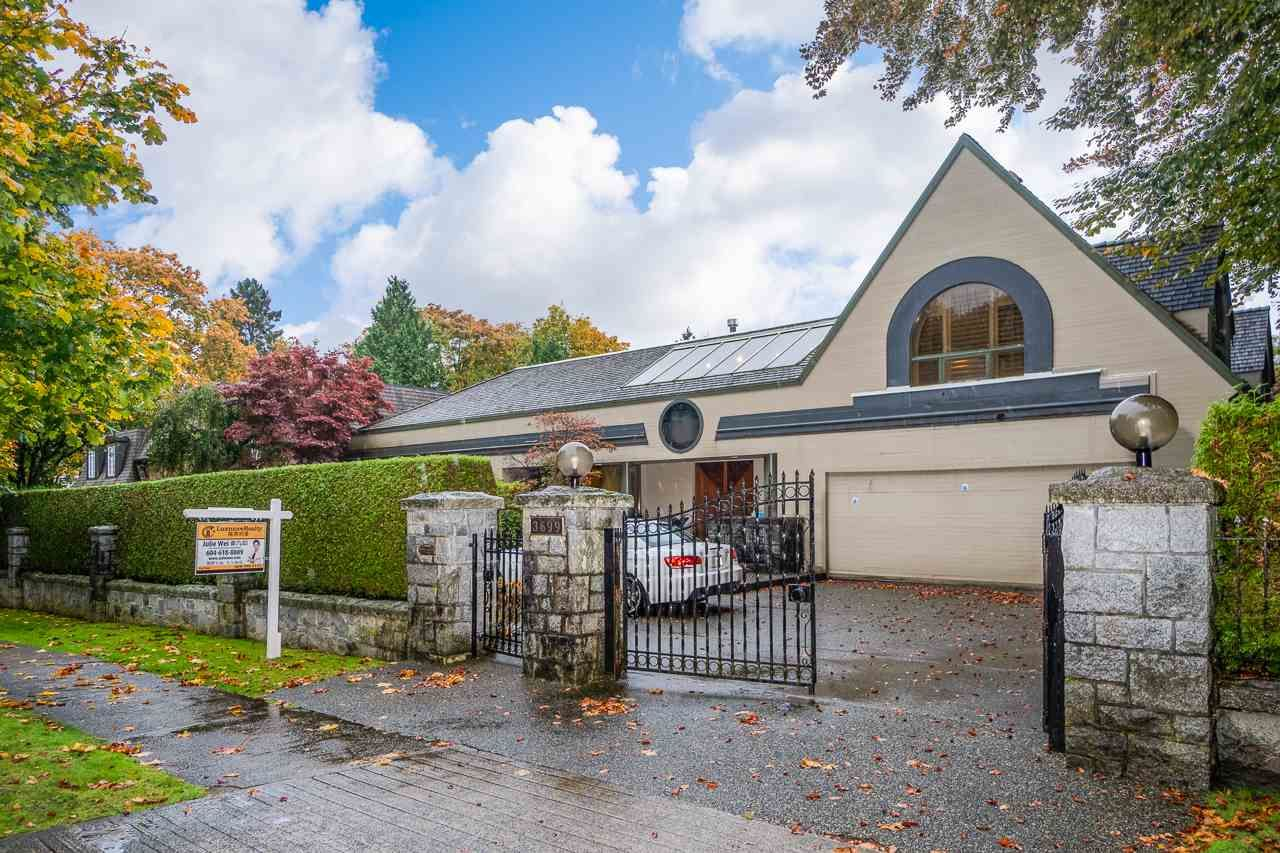 Main Photo: 3699 HUDSON Street in Vancouver: Shaughnessy House for sale (Vancouver West)  : MLS®# R2510527