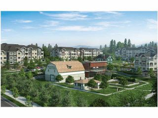 """Photo 1: 211 16390 64TH Avenue in Surrey: Cloverdale BC Condo for sale in """"The Ridge At Bose Farms"""" (Cloverdale)  : MLS®# F1431232"""