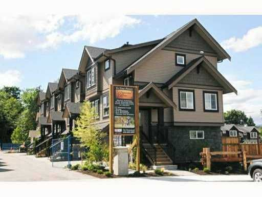 Main Photo: # 7 22206 124TH AV in Maple Ridge: West Central Condo for sale : MLS®# V1075662