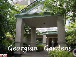 "Photo 1: 310 15268 105TH Avenue in Surrey: Guildford Condo for sale in ""GEORGIAN GARDENS"" (North Surrey)  : MLS®# F1121659"
