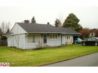 Photo 1: 12195 SULLIVAN ST in Surrey: Crescent Bch Ocean Pk. House for sale (South Surrey White Rock)  : MLS®# F1100089