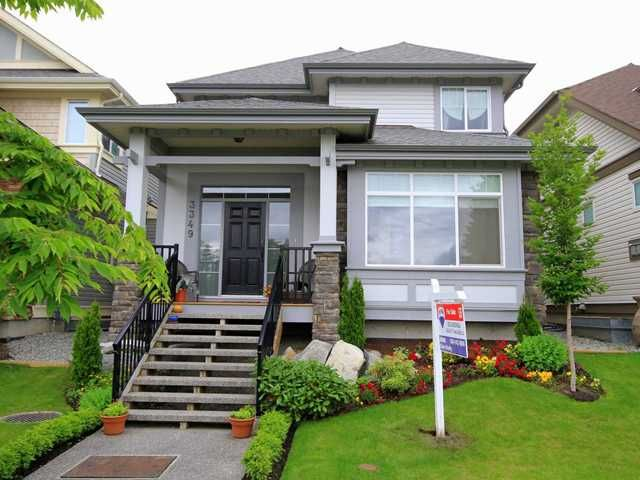 """Main Photo: 3349 PRINCETON Avenue in Coquitlam: Burke Mountain House for sale in """"BELMONT"""" : MLS®# V957858"""