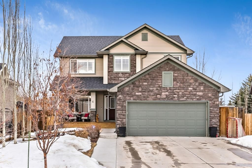 Main Photo: 6 Crystal Green Grove: Okotoks Detached for sale : MLS®# A1076312