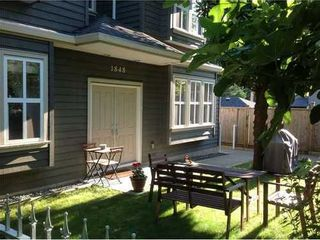 Photo 1: 1848 ISLAND Ave in Vancouver East: Fraserview VE Home for sale ()  : MLS®# V998679