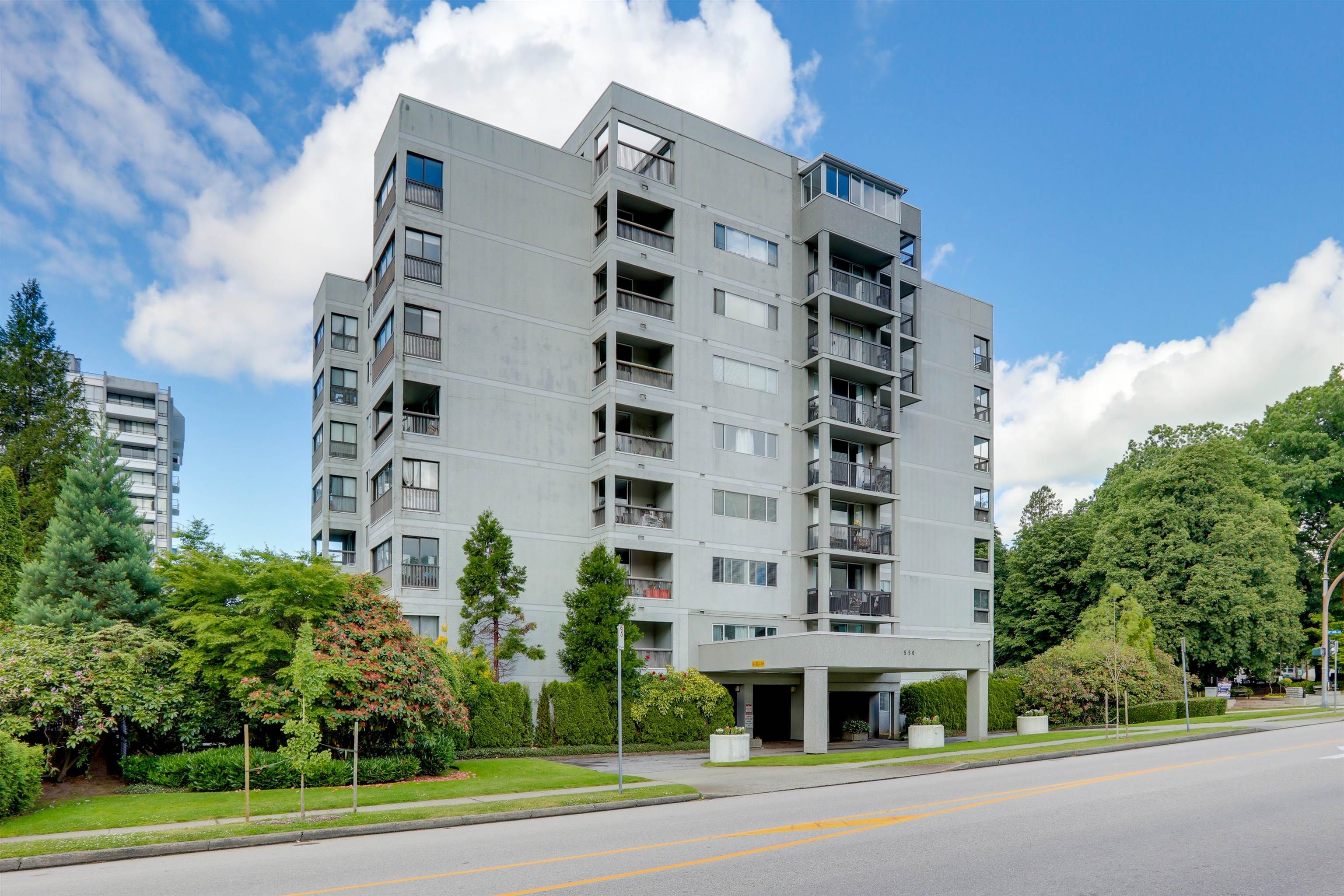 Located on the corner of Sixth Avenue and Eighth Street in Uptown New West, all the amenities at your finger tips.
