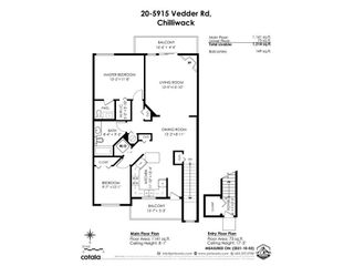 """Photo 39: 20 5915 VEDDER Road in Sardis: Vedder S Watson-Promontory Townhouse for sale in """"Melrose Place"""" : MLS®# R2623009"""