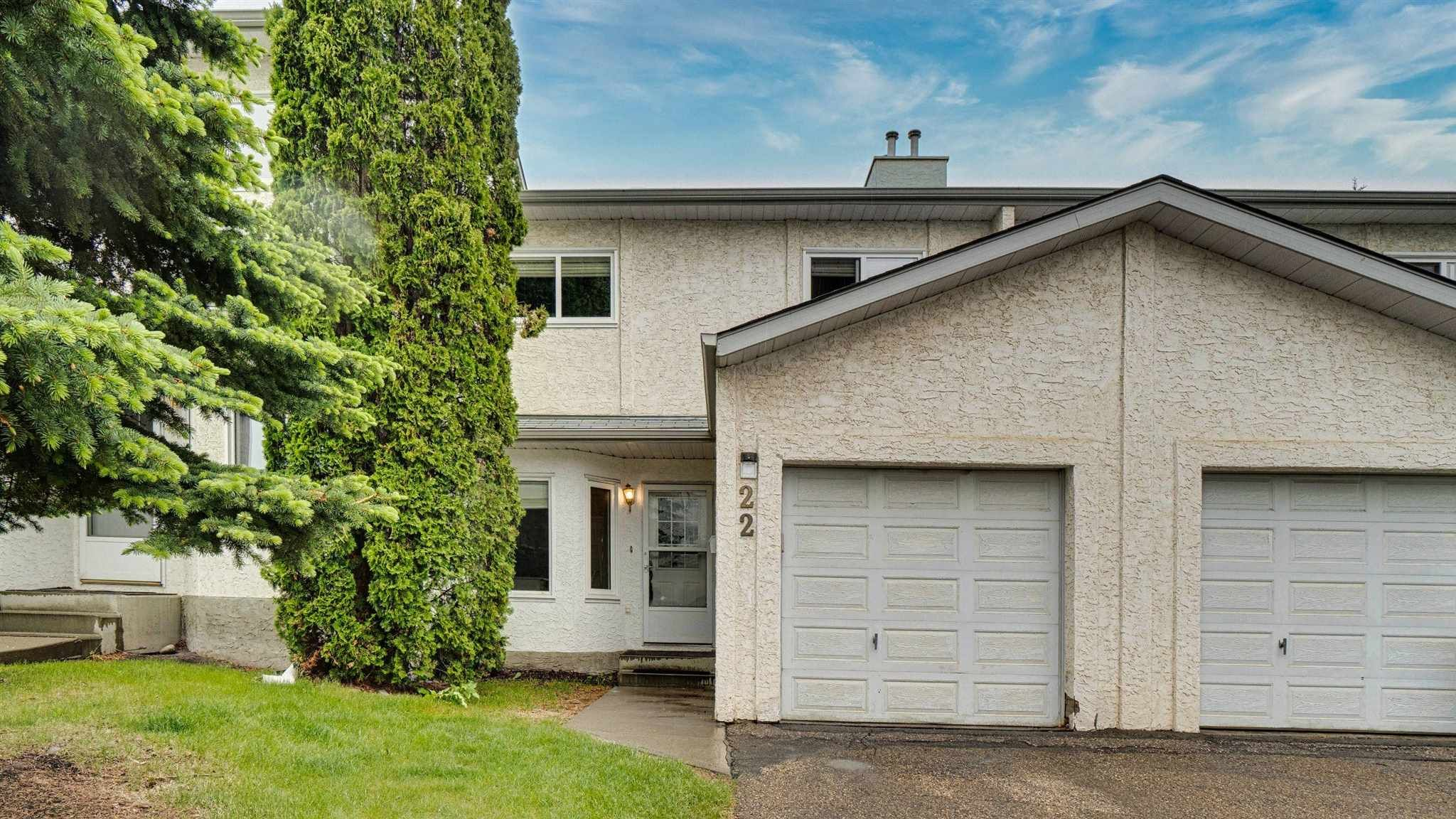 Main Photo: 22 3520 60 Street NW in Edmonton: Zone 29 Townhouse for sale : MLS®# E4249028