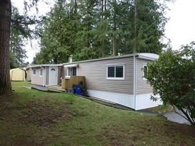 """Photo 1: 13 24330 FRASER Highway in Langley: Otter District Manufactured Home for sale in """"Langley GroveEstates"""" : MLS®# R2224640"""