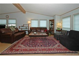 Photo 2: SAANICHTON MOBILE HOME = SAANICHTON REAL ESTATE Sold With Ann Watley! Call (250) 656-0131