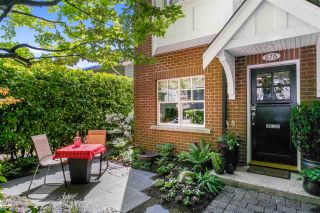 """Photo 1: 876 W 15TH Avenue in Vancouver: Fairview VW Townhouse for sale in """"Redbricks I"""" (Vancouver West)  : MLS®# R2506107"""
